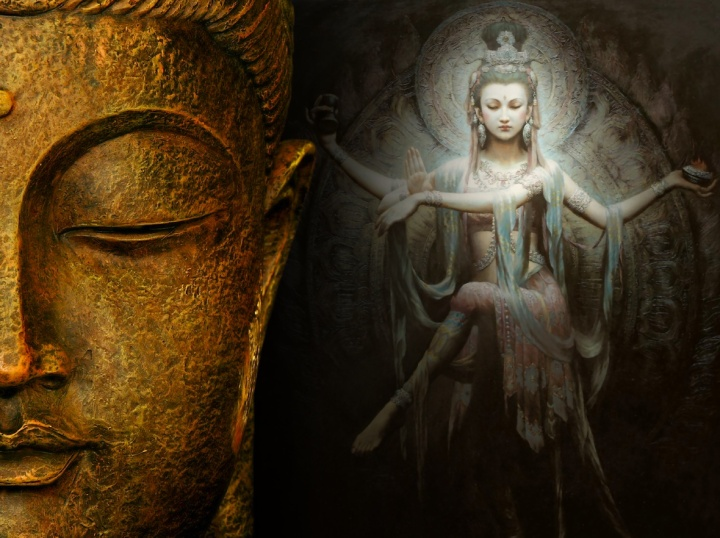 kuan-yin-and-buddha
